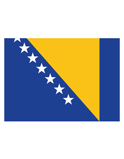 Fahne Bosnien und Herzegowina